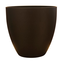 9 inch Egg Planter- Coffee