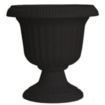 19 inch Utopian Urn - Black