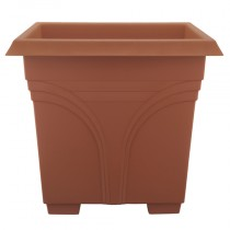 "15"" Medallion Deck Box - Terra Cotta"