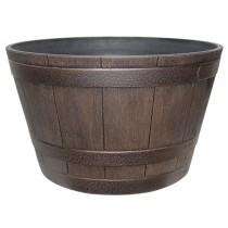 whiskey barrel planter