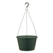 12 inch Weave Hanging Basket - Fern