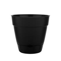 "12"" Newbury Self Watering Planter - Black"