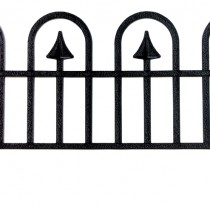 Dynamic Design'® Wrought Iron Fencing Single