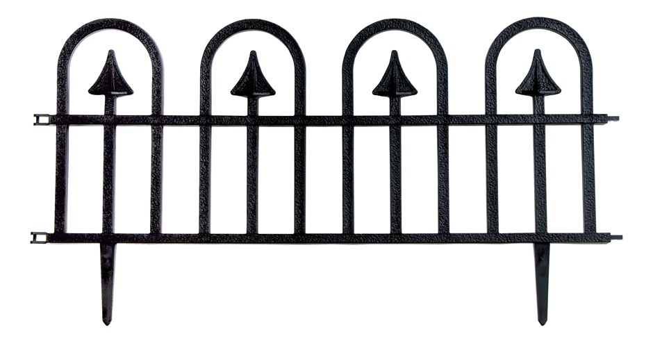 Dynamic Design Wrought Iron Fencing White Southern Patio