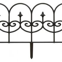 Dynamic Design'® Single Piece Black Fleur De Lys Fencing
