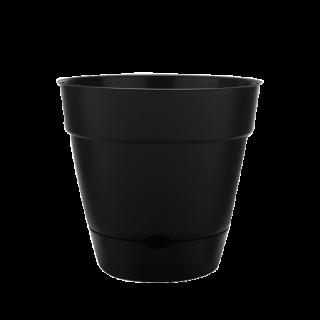 16 Newbury Self Watering Planter Black Southern Patio