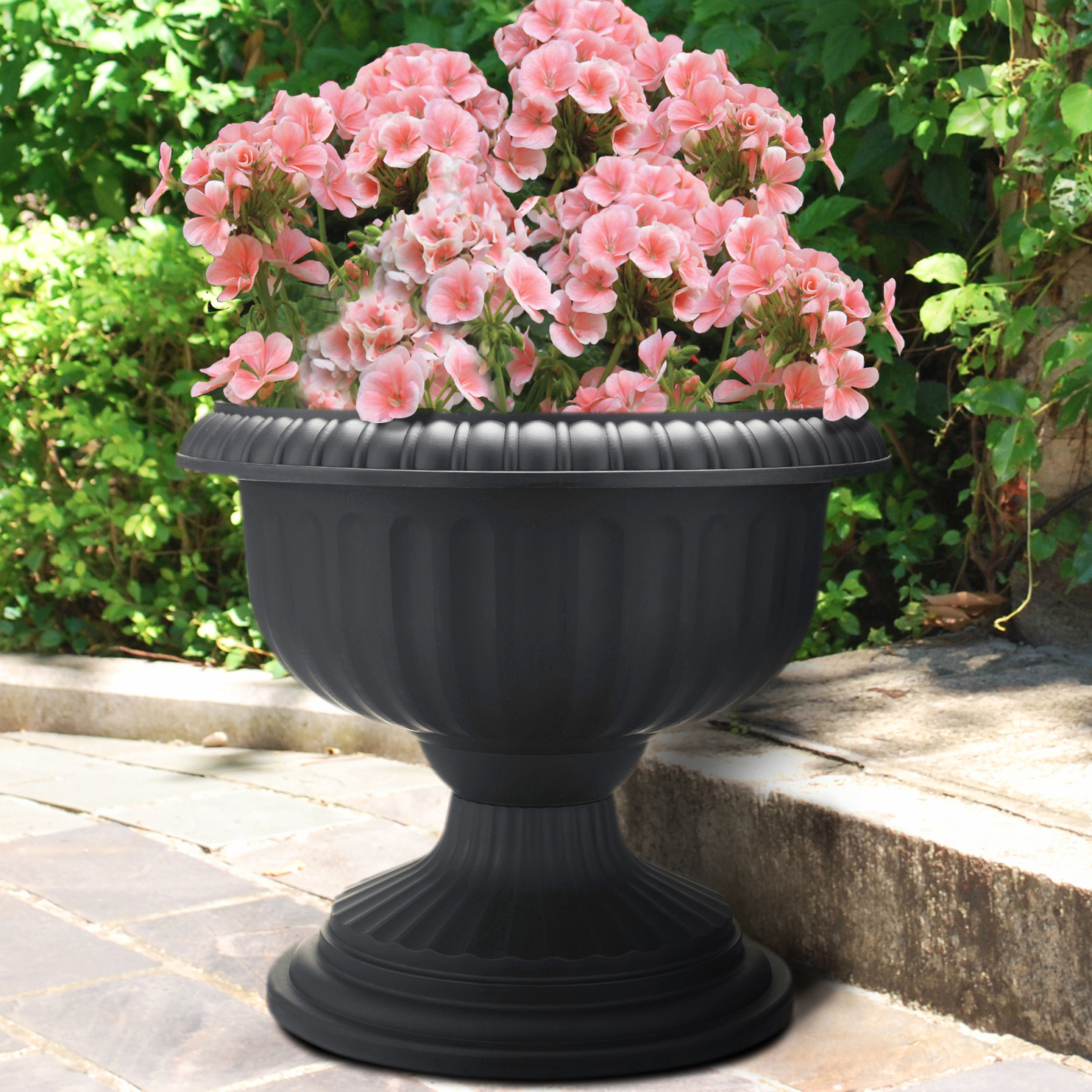 Dynamic Design 12 Grecian Urn Black Southern Patio