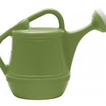 2 gallon watering can with a dual handle design for easy pouring