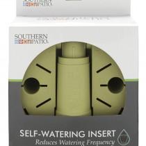 Self-watering insert inside package.