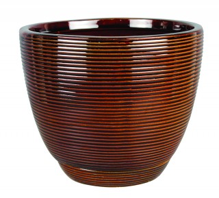 Clayworks 12 Quot Caylin Planter Java Southern Patio