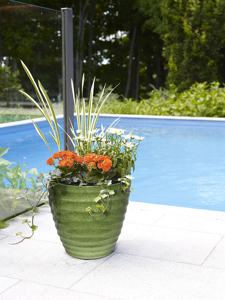 Beehive Planter Green Southern Patio