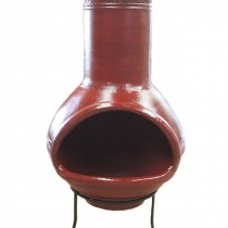 CLY-040095 - 42 IN Inca Chiminea, Oxblood