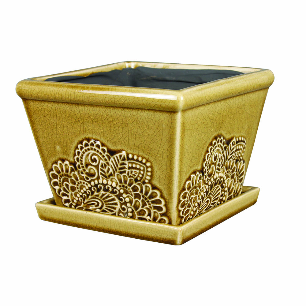 Clayworks 6 provence planter cork southern patio - Planters contact provence ...