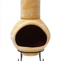 a2pc Chiminea Yellow - Front