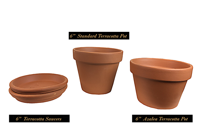 How to make a terracotta pot o 39 gold southern patio for Terracotta works pots