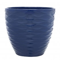 13inchWavePlanter_Navy-Blue