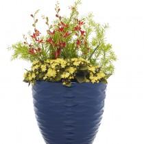 blue wave planter