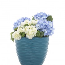 turquoise wave planter