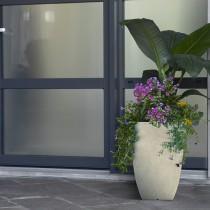 tall square planter