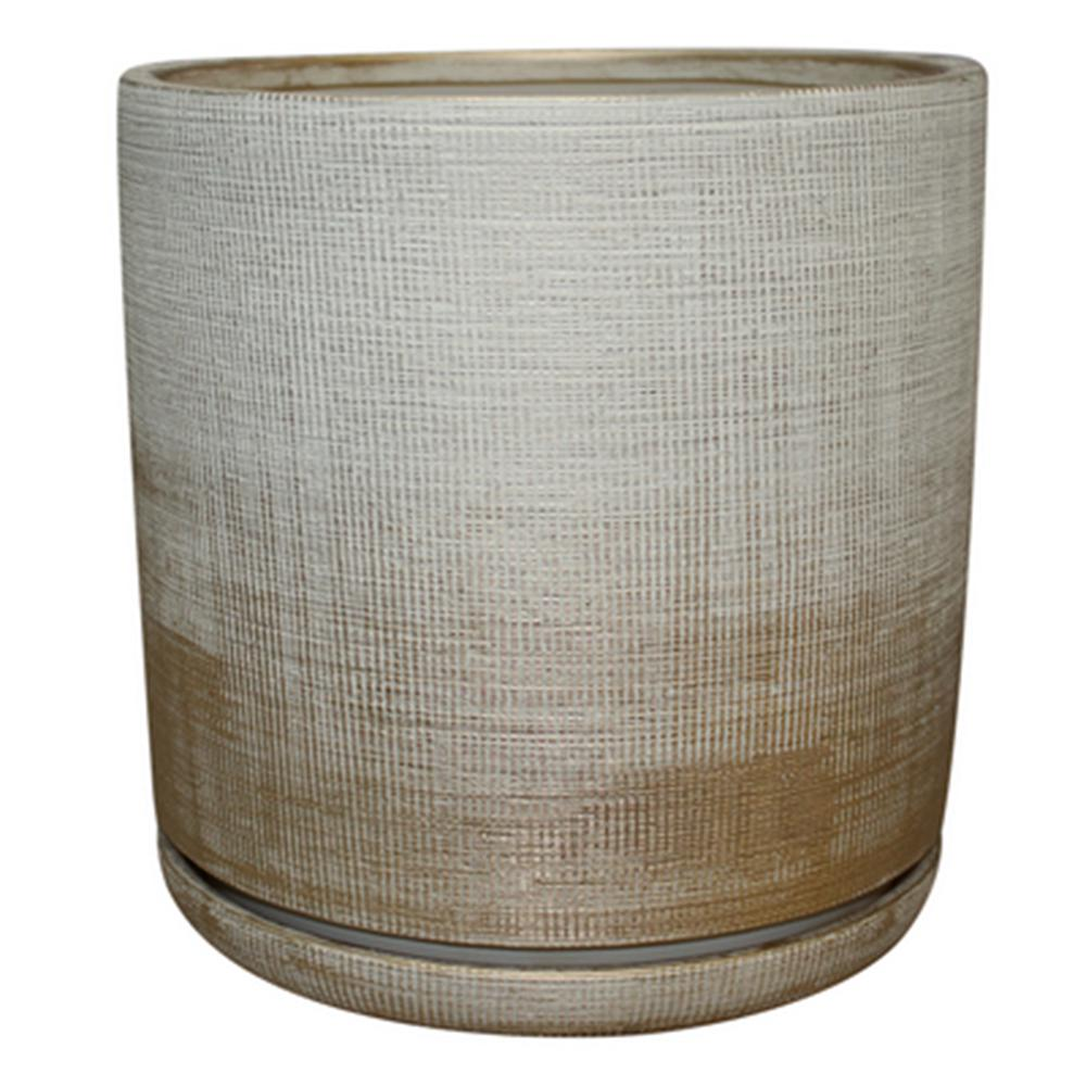 6 sherry planter gold southern patio