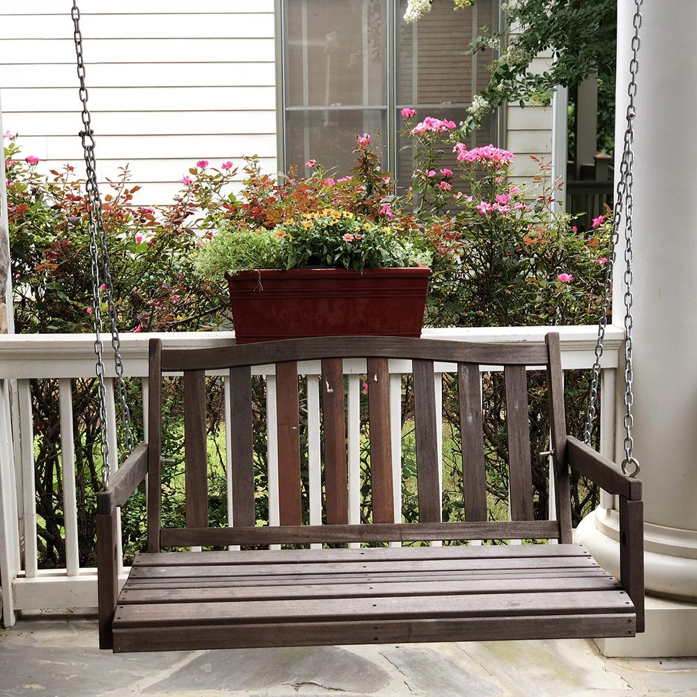 over balcony planters 24 X 105 Sycamore Deck Rail Planter Reactive Red