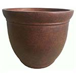 large brown planter