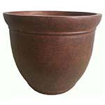 large brown planter