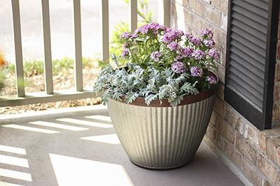westlake round planter